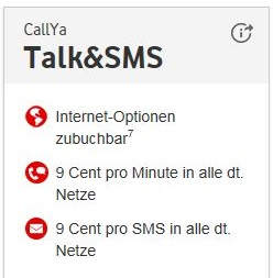 Vodafone CallYa Talk&SMS